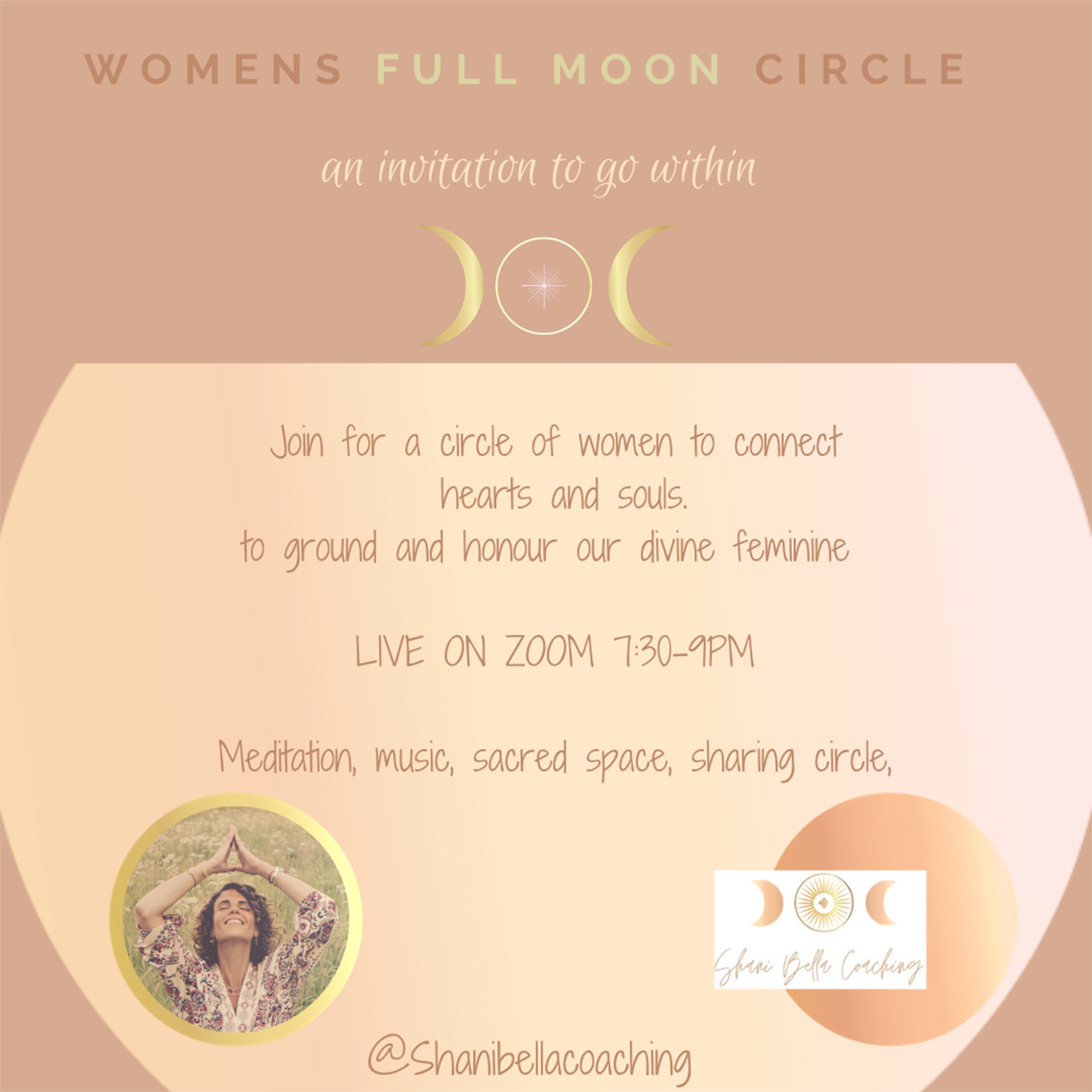 sacred full moon womens circle