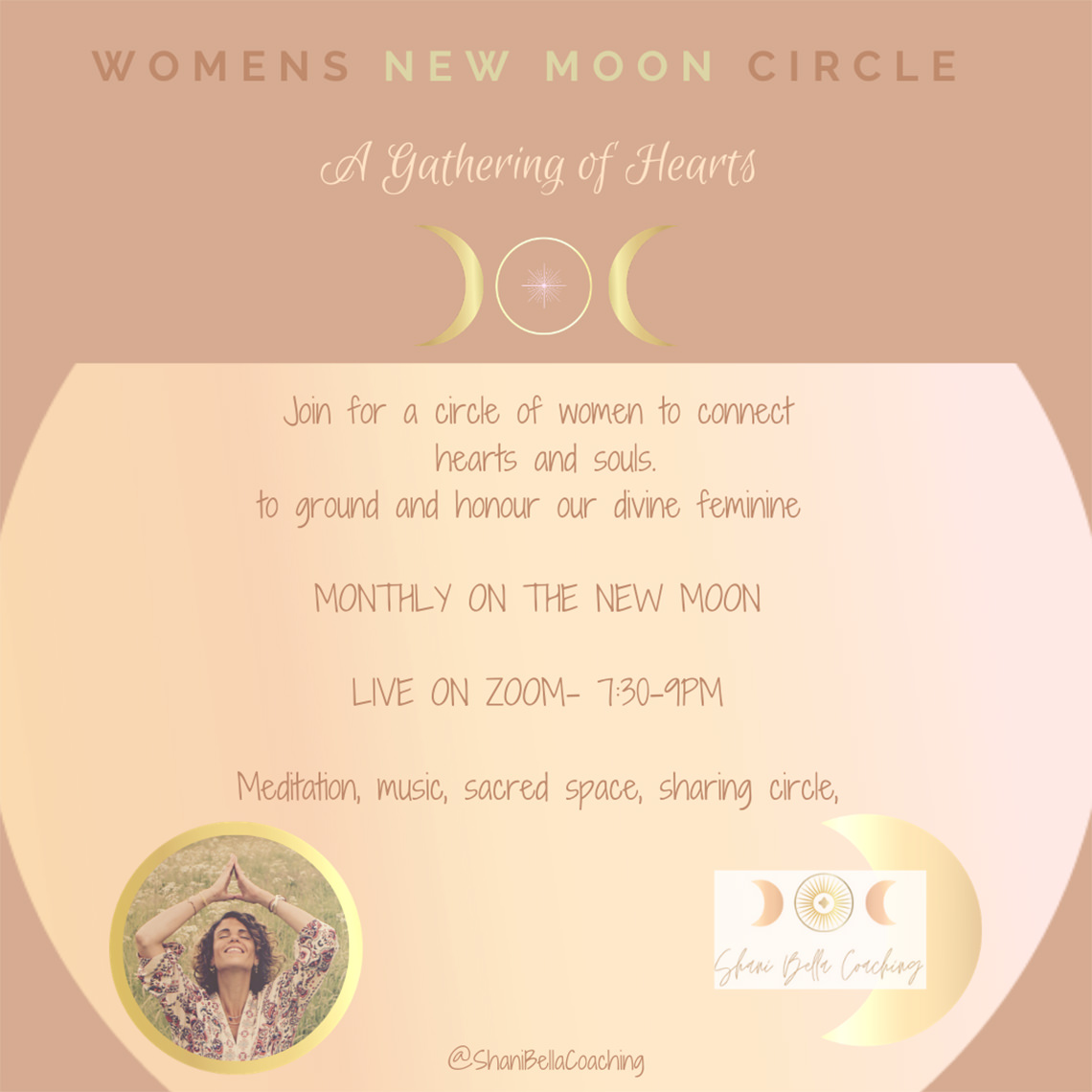 sacred new moon womens circle