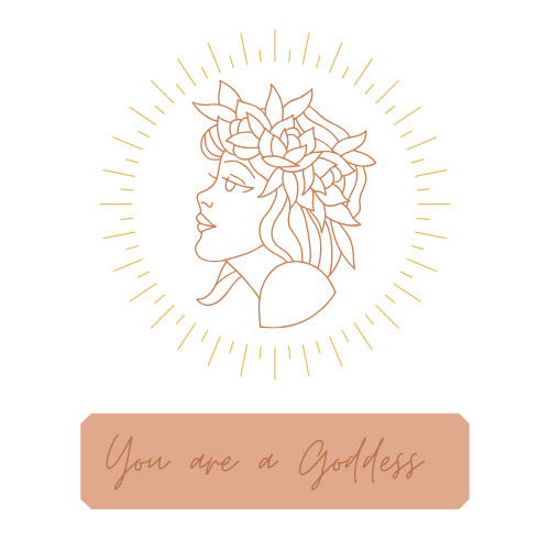 your are a goddess Shine your Light The Universe needs you